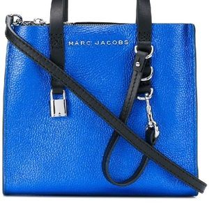 Marc Jacobs Bags - SOLD! Marc Jacobs Sapphire Blue Mini Grind Totes